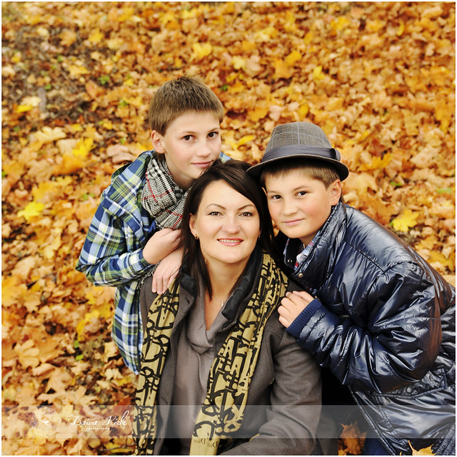 Jurgita su šeima
