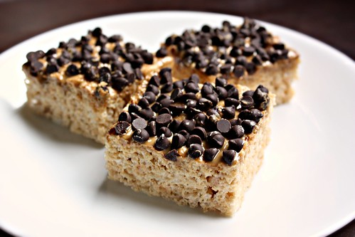 Art of Dessert: Sunbutter and Chocolate Chip Rice Krispie Treats