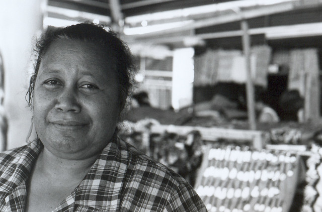 Tongan Woman - Market Vendor