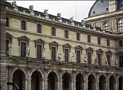 Paris Louvre 5 (WasifMalik) Tags: white black paris france museum outside pyramid louvre lisa mona malik wasif wasifmalik