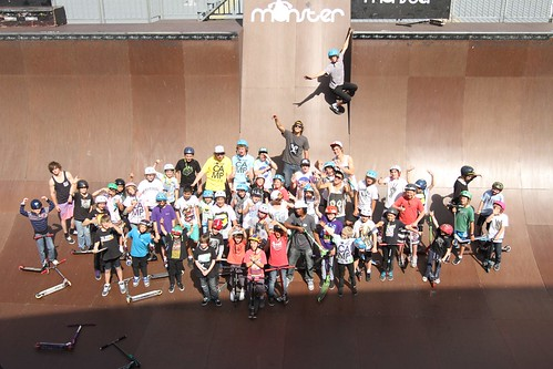 Monster skatepark camp 2