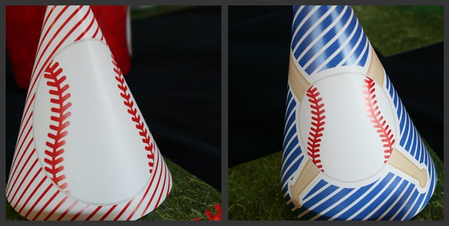 Baseball Collage - Party Hats