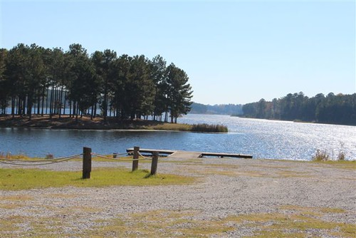 NRCS provided technical assistance to the Choctaws in the creation of Lake Pushmataha, a 285-acre lake in Neshoba County.
