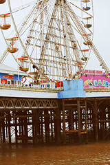 Blackpool (Lauren Watkins) Tags: sea wheel fun outdoors pier fair blackpool