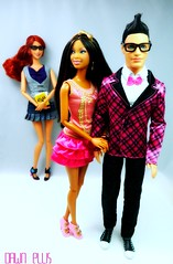 LMV Teen Scene: Love Games (Dawn Ellis) Tags: doll barbie fashionista geeklove blackdoll barbieandken stardoll blackbarbie dolldiorama barbiefashionista ravensymonedoll