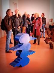 Opening exhibition Gjalt Blaauw (Michiel Thomas) Tags: sculpture holland beelden sculptuur galerie opening groningen beeldhouw