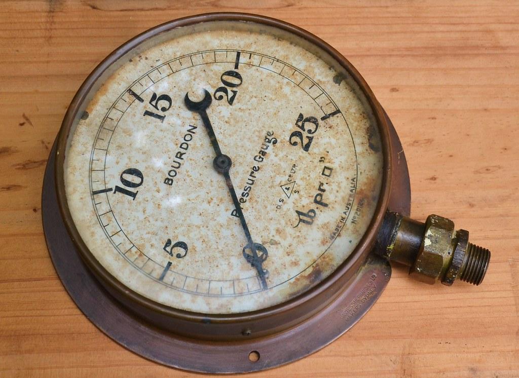Pressure Gauge 0-25psi