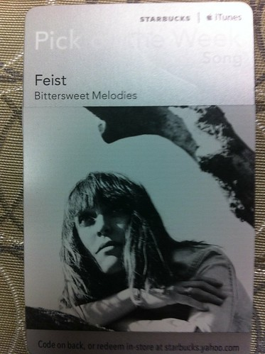 Starbucks iTunes Pick of the Week - Feist - Bittersweet Melodies