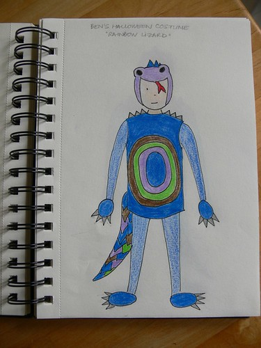 Jenny: Rainbow Lizard