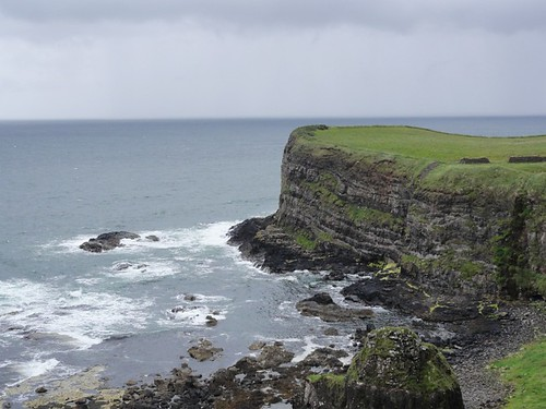 Headland along the North Antrim Coast