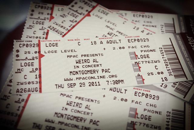 Weird Al Concert!