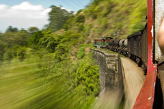 Motion (Matt Parry Photo) Tags: longexposure travel motion blur speed train canon movement carriage ride engine passenger srilanka hoya ndfilter nd400 60d