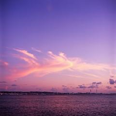 Sunset Beach, Okinawa (g o r t (crazily busy)) Tags: rolleiflex velvia epson fujifilm rvp 100f 28a zeissopton fujifilmvelvia100f epsongtx970 gtx970 rolleiflex28azeissopton