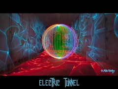 Electric tunnel (Mike Ridley.) Tags: uk longexposure lightpainting electric underground spin orb tunnel led sphere orbs northeast lightpainted lapp northeastengland canonef1740f4l ledtorch lightorb canon5dmkll