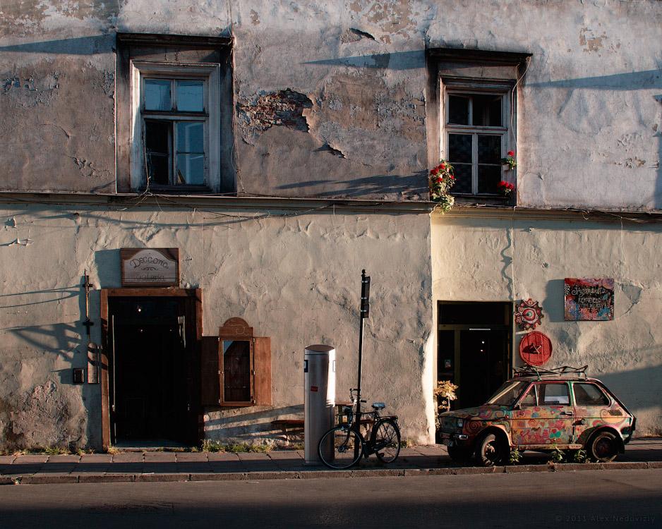 Kraków, somewhere in Kazimierz © 2011 Alex Nedoviziy
