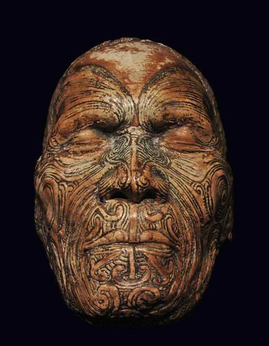 Moulage du visage de Wiremu Te Manewha (musée du Quai Branly) by dalbera