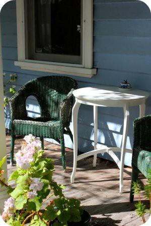 veranda + sunshine