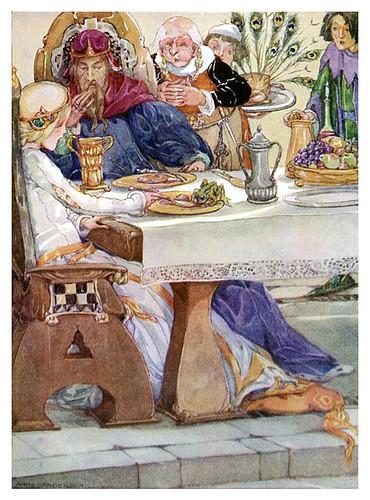001-Cuentos de Grimms-El principe encantado en la corte- Anne Anderson
