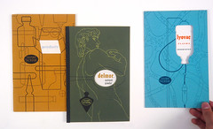 Promotional booklets for Sharp & Dohme, designed by Alexander Ross, 1940s (Herb Lubalin Study Center) Tags: pharma
