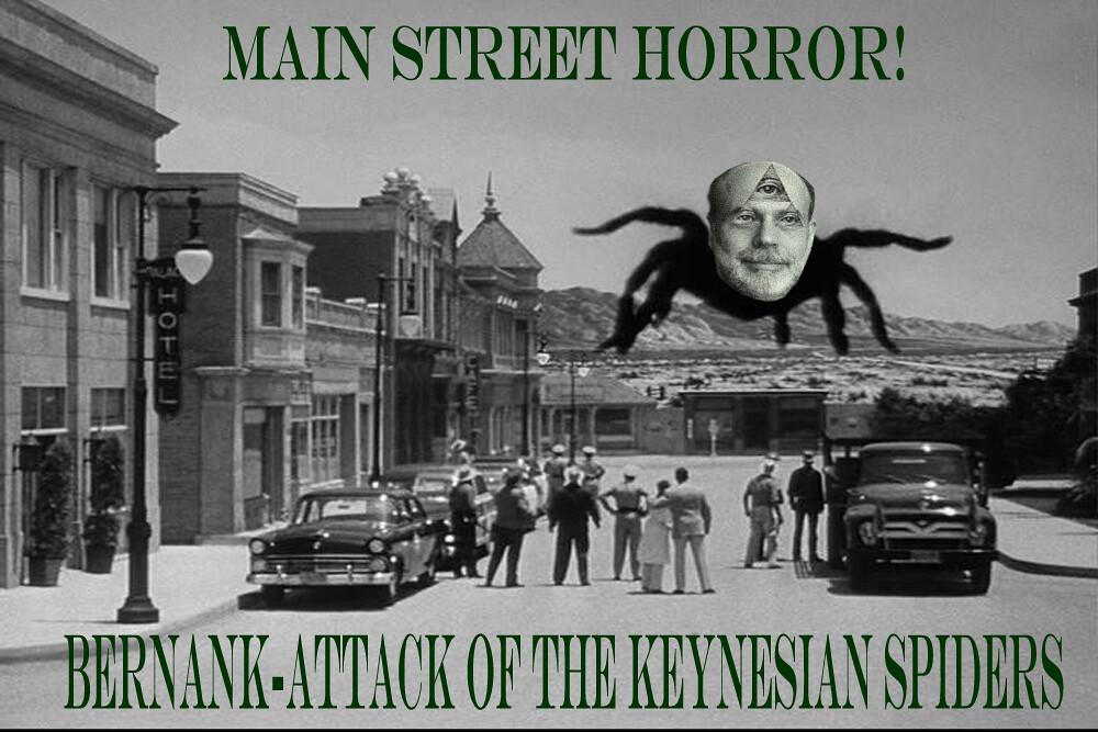 KEYNESIAN SPIDER ATTACK