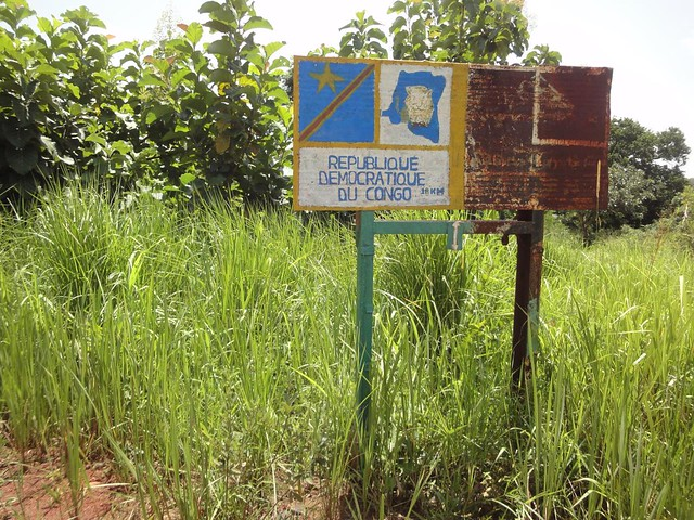 Estrada desde Juba até fronteira com RD do Congo