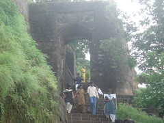 At Shivneri Fort