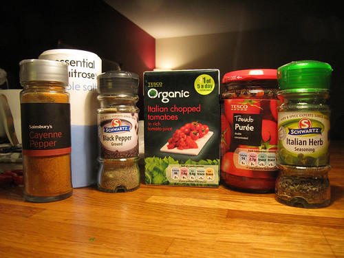 veg pasta sauce ingredients