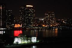 IMG_8962 (dougschneiderphoto) Tags: city nyc newyorkcity urban usa newyork night river dark island lights nightscape illuminated queens eastriver rooseveltisland