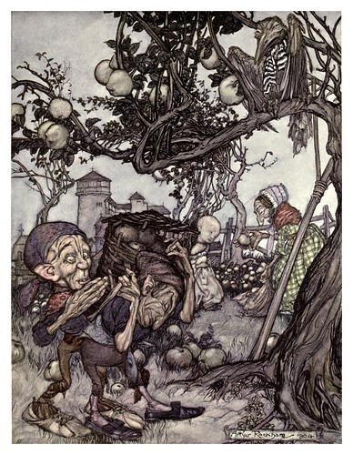009-La bonanza- Arthur Rackham-The old Water-Colour Society-1905-Charles Holme