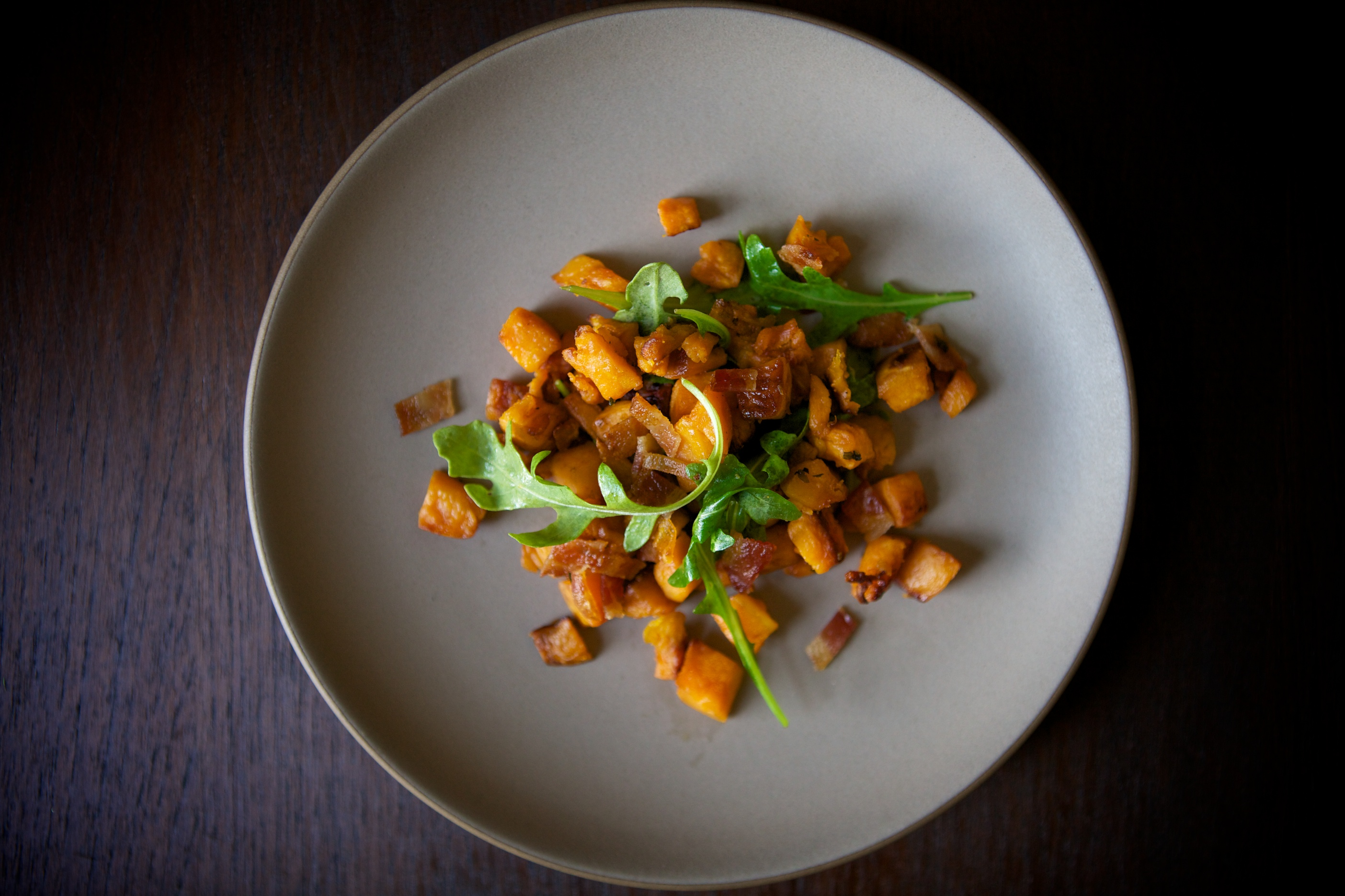 Brown Butter Roasted Sweet Potatoes