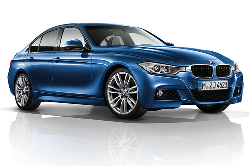2013 BMW 3 Series  M-Sport Package Pictures