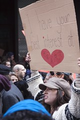 Occupy Wall Street Takes Times Square