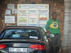 Um quase Brasileiro (Diógenes Araújo) Tags: africa trip colors bandeira brasil cores southafrica cotidiano viagem audi | africadosul nelspruit