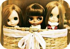 Girls on a Basket