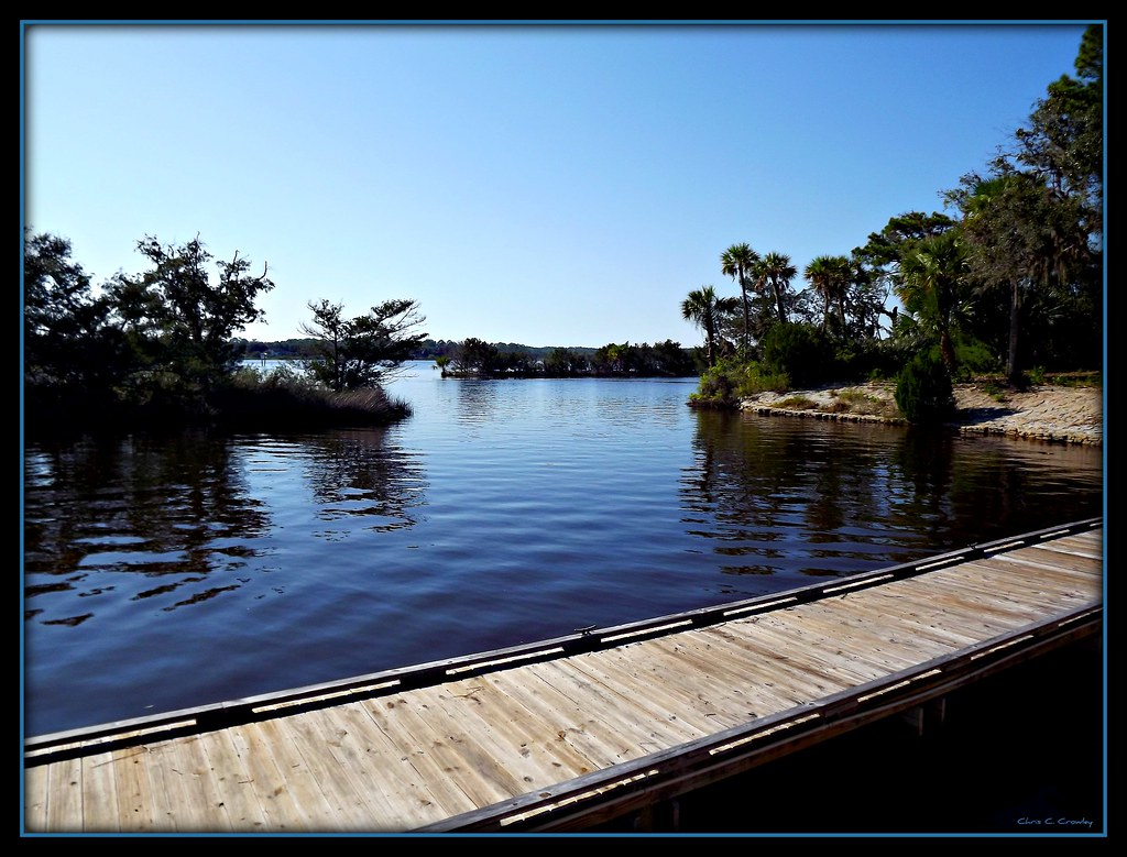 Dock on the Tomoka River
