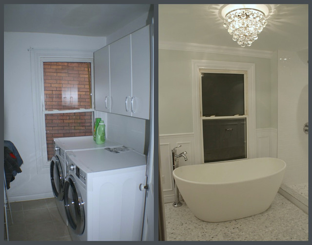 Bathtub Before and After
