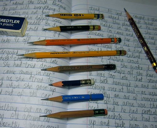 NaNoWriMo Pencil Reunion
