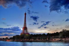 memories  of paris (Rex Montalban Photography) Tags: paris france europe eiffeltower hdr laseine rexmontalbanphotography