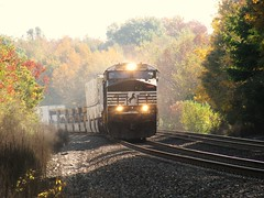 Otis, Indiana (codeeightythree) Tags: ns norfolksouthernrailroad otisindiana nschicagoline