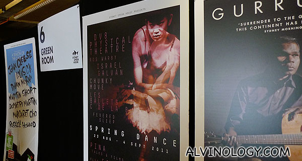 Various promotional posters