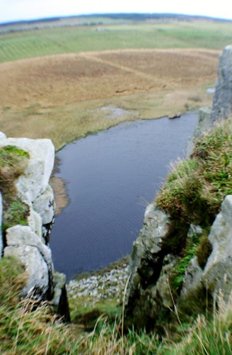 Crag Lough from Hadrian's Wall