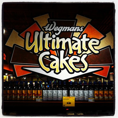 Ultimate Cakes at Wegmans