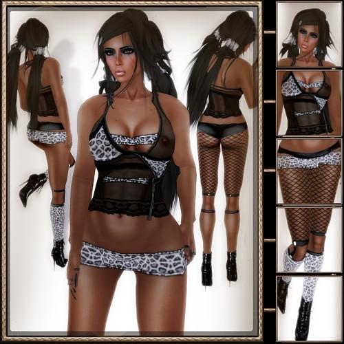A&A Fashion Jealous Outfit JaguarGrey