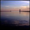 Yup (Voxphoto) Tags: lighthouse 6x6 tlr minolta dusk roadtrip lakemichigan sq provia100f breakwater frankfort autocord benziecounty