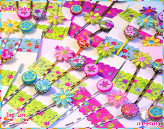 Bobby Pins Sets collection (Ronit golan) Tags: summer cane hair israel spring pins bobi polymerclay fimo clay haifa ronit golan hairpins polymer millefiori premo 2011 millefiore ceramicaplastica canework ronitgolan millefiorecane millefioricane