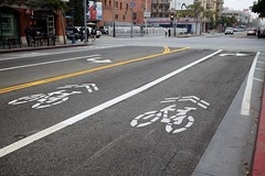 New Bike Facilities Broadway Ave.