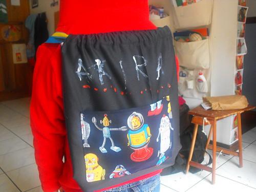 La mochila de Akira