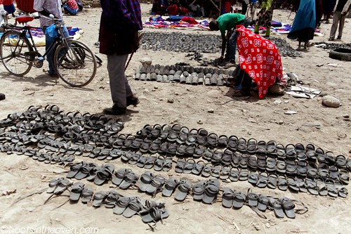 Maasai tire sandals