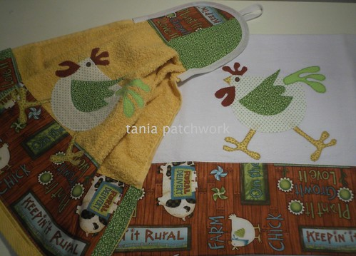Kit Cozinha Rural by tania patchwork