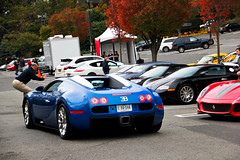 Eh... (Andrew Cragin Photography) Tags: auto blue 2 two italy black cars beautiful beauty car race america canon eos rebel cool interesting italian automobile italia european martin connecticut fast ct convertible ferrari best explore 164 gran gto expensive bugatti turismo exclusive fastest extraordinary v8 automobiles aston v10 vantage w16 combo veyron supersport v12 limerock rapide lakeville 2011 explored grandsport 200mph omolgato shutterspeedphotos v12rare